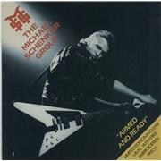 "Michael Schenker Group Armed & Ready - Clear Vinyl UK 7"" vinyl"