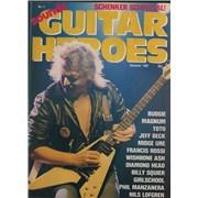 Michael Schenker Group Sounds Guitar Heroes No. 4 UK magazine