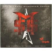 Michael Schenker Group The Chrysalis Years (1980-1984) UK 5-CD set