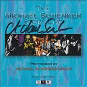 Michael Schenker Group The Michael Schenker Story - Live - Autographed USA 2-CD album set