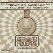 Click here for more info about 'Michael Zager - Let's All Chant'