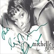 Click here for more info about 'Michelle Gayle - Autographed Picture - green ink'