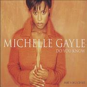 Click here for more info about 'Michelle Gayle - Do You Know + Poster'
