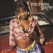 Click here for more info about 'Michelle Gayle - Happy Just To Be With You'