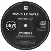 "Michelle Gayle Sweetness UK 12"" vinyl Promo"