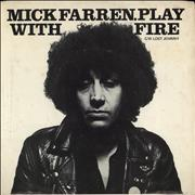 Click here for more info about 'Mick Farren - Play With Fire + p/s'
