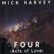Click here for more info about 'Mick Harvey - Four [Acts Of Love] - Autographed'