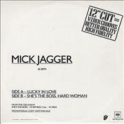 Click here for more info about 'Mick Jagger - Lucky In Love'