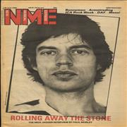 Click here for more info about 'Mick Jagger - NME - 28 June 1980'