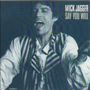 Click here for more info about 'Mick Jagger - Say You Will'