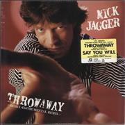 Click here for more info about 'Mick Jagger - Throwaway - Sealed'