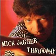 Click here for more info about 'Mick Jagger - Throwaway'
