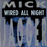 Click here for more info about 'Mick Jagger - Wired All Night'