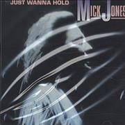 Click here for more info about 'Mick Jones (Foreigner) - Just Wanna Hold'