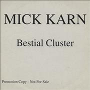 Click here for more info about 'Mick Karn - Bestial Cluster'