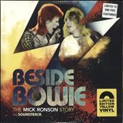 Click here for more info about 'Mick Ronson - Beside Bowie: The Mick Ronson Story (The Soundtrack) - Yellow Vinyl'