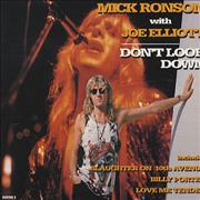 Click here for more info about 'Mick Ronson - Don't Look Down'
