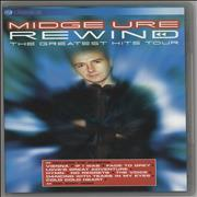 Click here for more info about 'Midge Ure - Rewind - The Greatest Hits Tour'