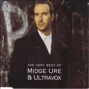 Click here for more info about 'Midge Ure - The Very Best Of Midge Ure & Ultravox'