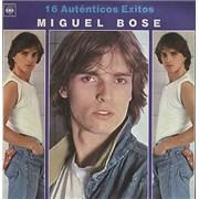 Click here for more info about 'Miguel Bose - 16 Auténticos Exitos - Blue Vinyl'