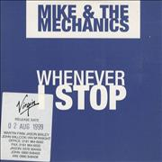 Click here for more info about 'Mike & The Mechanics - Whenever I Stop'