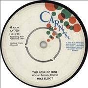 Click here for more info about 'Mike Elliot - This Love Of Mine'