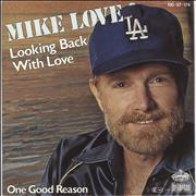 "Mike Love Looking Back With Love Germany 7"" vinyl"