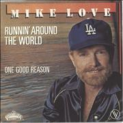 "Mike Love Runnin' Around The World France 7"" vinyl"