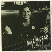Click here for more info about 'Mike McGear - Leave It - P/S'