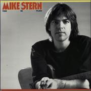 Mike Stern Time In Place USA vinyl LP