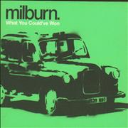 Click here for more info about 'Milburn - What You Could've Won'