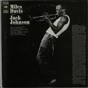 Miles Davis A Tribute To Jack Johnson - 1st USA vinyl LP