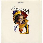 Miles Davis Amandla UK vinyl LP