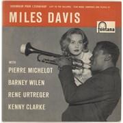 """Miles Davis Ascenseur Pour L'Échafaud (Lift To The Scaffold) Netherlands 10"""" vinyl"""