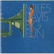Miles Davis Big Fun Austria 2-CD album set