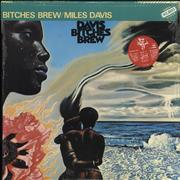 Click here for more info about 'Miles Davis - Bitches Brew - Stickered Shrink'