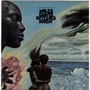 Miles Davis Bitches Brew - red 'six eye' label USA 2-LP vinyl set