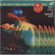 Miles Davis Black Beauty - Miles Davis At Fillmore West + top obi Japan 2-LP vinyl set