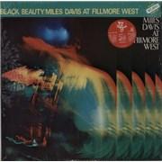 Miles Davis Black Beauty - Miles Davis At Fillmore West + top obi sealed Japan 2-LP vinyl set