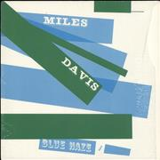 Miles Davis Blue Haze - stickered shrink USA vinyl LP