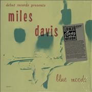 Miles Davis Blue Moods - stickered shrink USA vinyl LP