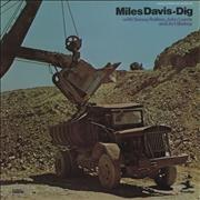 Miles Davis Dig France 2-LP vinyl set