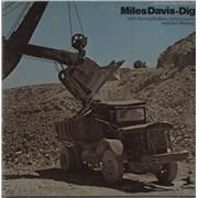 Miles Davis Dig USA 2-LP vinyl set