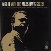 Miles Davis Diggin' With The Miles Davis Sextet France vinyl LP