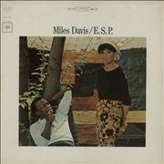 Miles Davis E.S.P. - Sealed USA vinyl LP