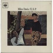 Miles Davis E.S.P. - Smooth Orange Label UK vinyl LP