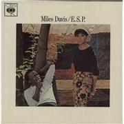Miles Davis E.S.P. UK vinyl LP