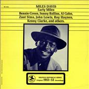 Miles Davis Early Miles UK vinyl LP