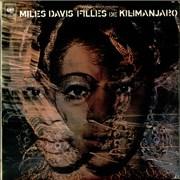 Miles Davis Filles De Kilimanjaro UK vinyl LP