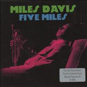 Miles Davis Five Miles UK 5-CD set